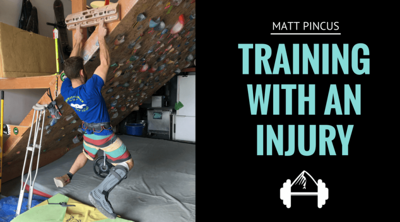 Training with an Injury