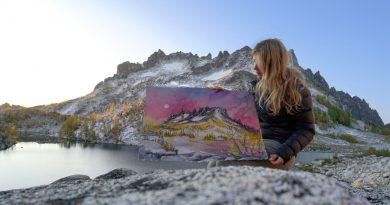 Drawn To High Places: Mountain Artist Nikki Frumkin