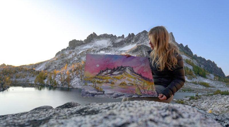 Drawn To High Places: Mountain Artist Nikki Frumkin