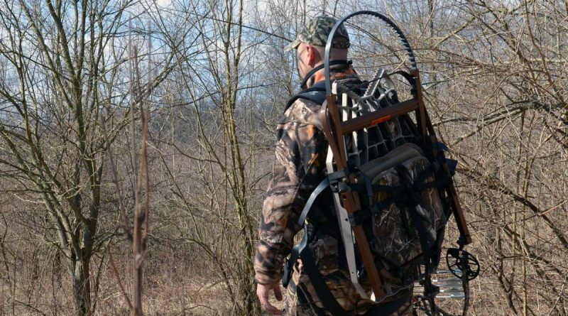How To Use A Climbing Treestand