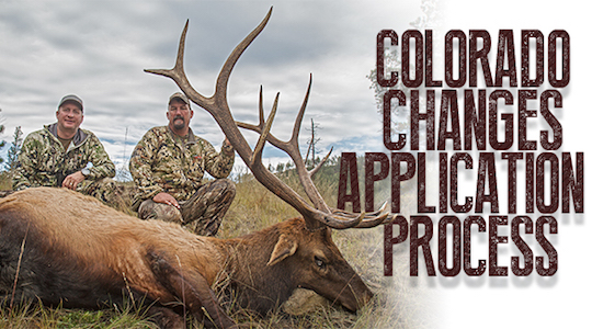 Important Changes in the Colorado Big Game Application Process