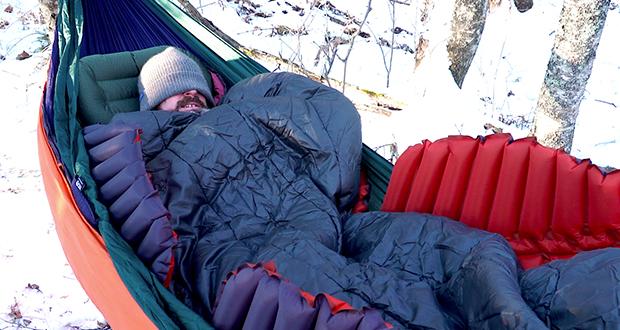 6 Tips For Enjoying Winter Hammock Camping