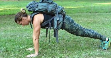Wild Skills   Full Body Backpack Workout