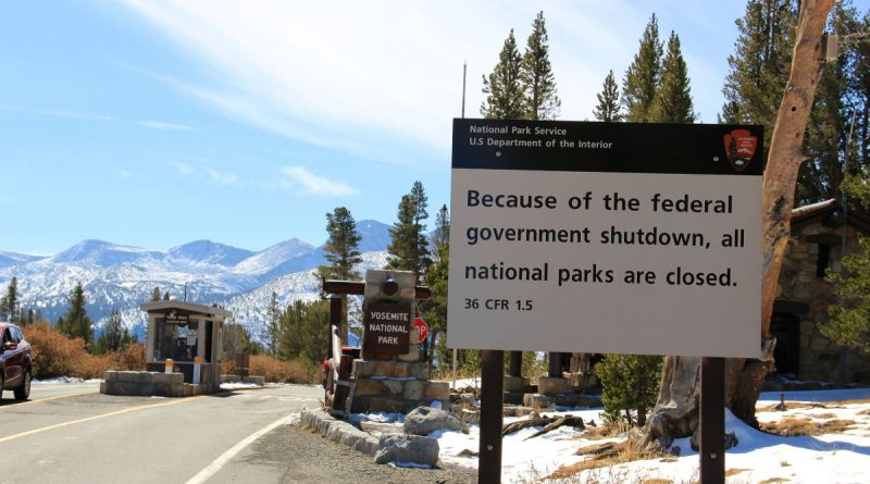 National Parks Could Stay Open Through Shutdown