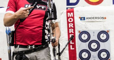 Hoyt Sweeps at the US Indoor Championships