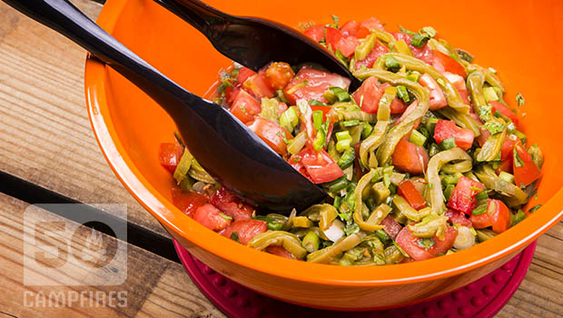 Prickly Pear Cactus Salad