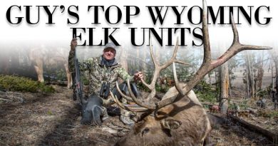 Guy's 2018 Top Wyoming Elk Units