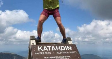 "Dan ""Knotts"" Binde Claims a New Self-Supported Appalachian Trail Record"