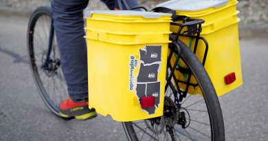 DIY: Make Your Own Bucket Bike Panniers