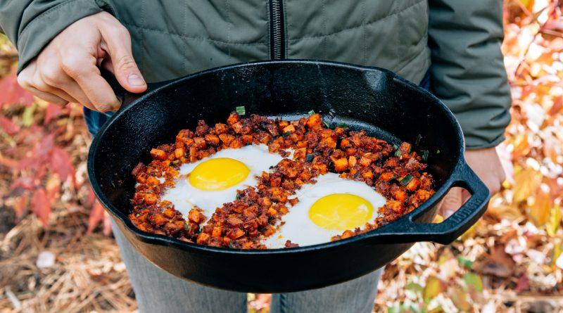 Camping Recipes: Sweet Potato & Chorizo Breakfast Hash
