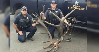 Oregon Poachers to Pay Thousands in Restitution for Killing of 8X6 Bull Elk