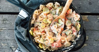 Camp Recipe: One-Skillet Pasta Primavera