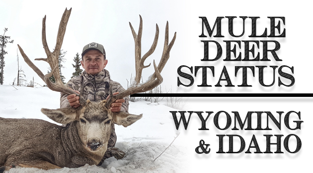 Mule Deer Status: Wyoming And Idaho