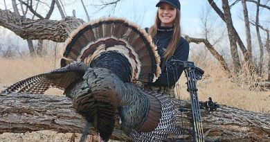 Cara Harper Bags Her First Bow Turkey…And It's a Merriam's