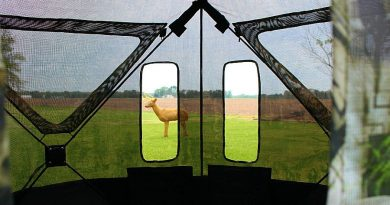 See-Through Walls on Primos SurroundView 270-Degree Blind are Mind-Boggling