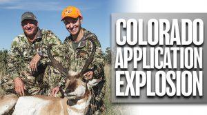 Colorado Application Explosion